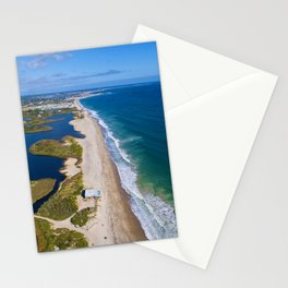 Moonstone Barrier Beach, South Kingstown, Rhode Island South County Stationery Cards