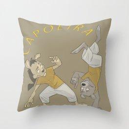CapoeiraKids Throw Pillow
