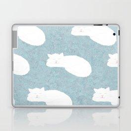 Sleepy Cat Laptop & iPad Skin