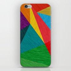 Poly Circle iPhone & iPod Skin