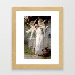 L'Innocence by William-Adolphe Bouguereau Framed Art Print