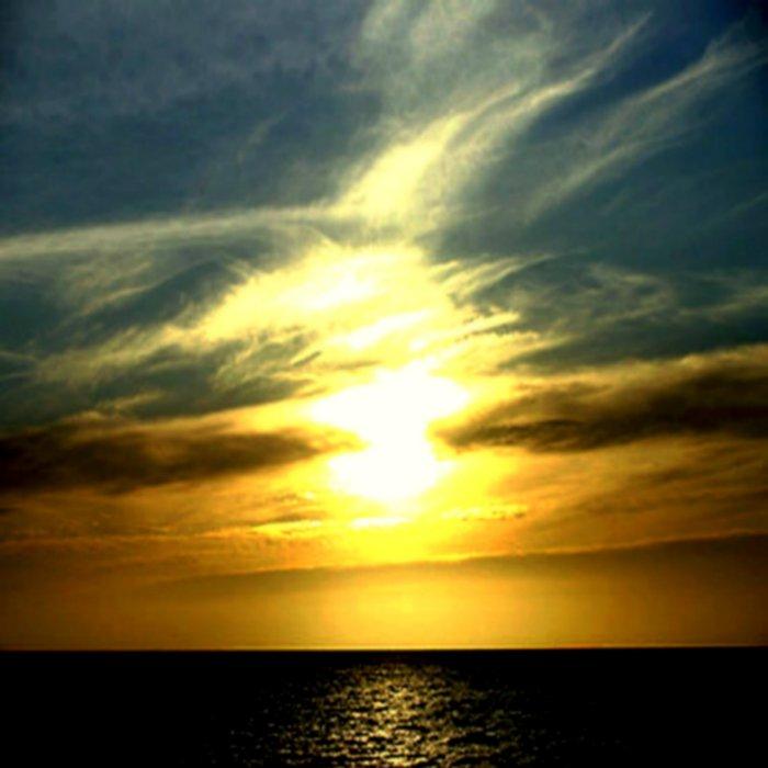 Sunrise over Bass Strait - Tasmania Duvet Cover