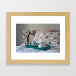 Tea in Bed Framed Art Print