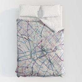 Dallas map Comforters