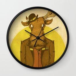 {Bosque Animal} Alce Wall Clock