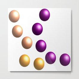 Balls / Kugeln   (A7 B0041) Metal Print