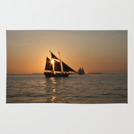 Sails and Sunsets Rug