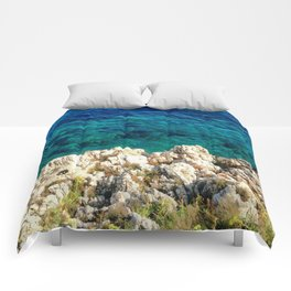 Saturday By The Sea Comforters