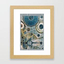 iPhone Gears Framed Art Print