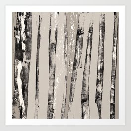 Shadow Branches Art Print