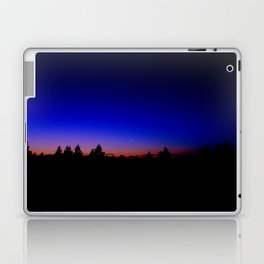 Moon at Dusk Laptop & iPad Skin