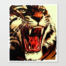 King Of Bengal Canvas Print