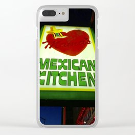 Mama's Kitchen in Belltown Seattle Clear iPhone Case