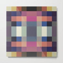 Special Geometric Pattern Sylph Metal Print