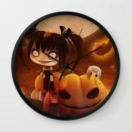 Halloween Hysteria Wall Clock