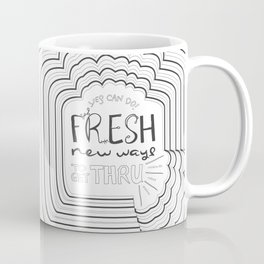 Fresh New Ways – Grey Coffee Mug