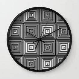 Corridors of Illusion Wall Clock