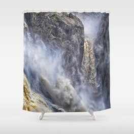 The magnificent Barron Falls Shower Curtain