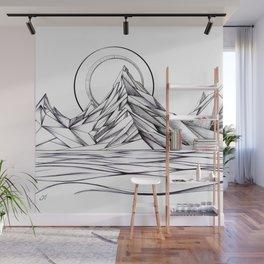 'Crystal Mountain Peaks' Wall Mural