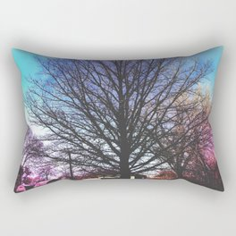Grandma's Backyard Rectangular Pillow