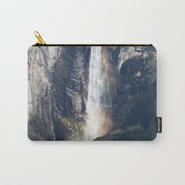 Bridalveil Falls, Yosemite California Carry-All Pouch