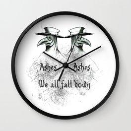 Plague Doctor Wall Clock