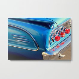 Sky Blue, Far Behind Metal Print