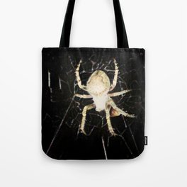 Mid-air Spider Tote Bag