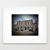 oakland Framed Art Prints featuring Oakland House by treehood