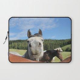 Horse Smile Photography Print Laptop Sleeve