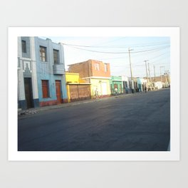 Callao Art Print