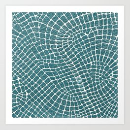 Amazon roads Art Print