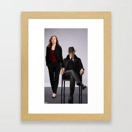 He may be a criminal, but he's mine. Framed Art Print
