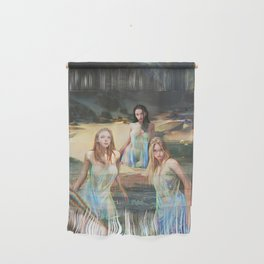 """Sirens (""""Charm of of the Ancient Enchantress"""" Series) Wall Hanging"""