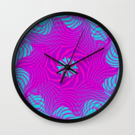 Moving stripes ... 1 Wall Clock