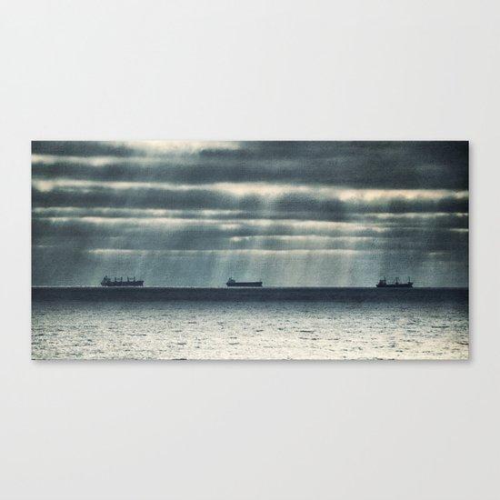 Morning Race Canvas Print