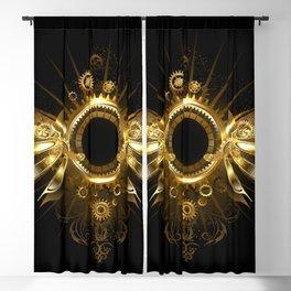 Mechanical Wings ( Steampunk Wings ) Blackout Curtain