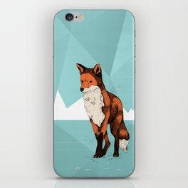 Ice Fox  iPhone Skin