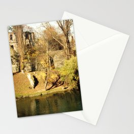 The autumn in the fort Stationery Cards