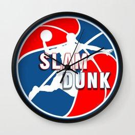 Slam Dunk Pro BasketBall Wall Clock