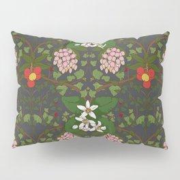 Winter Flowers Pillow Sham