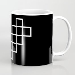 Geometric Heart Coffee Mug