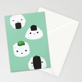 Onigiri ♥ time! Stationery Cards