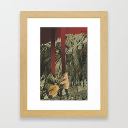 Where's Your Head At?  Framed Art Print