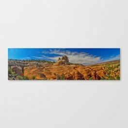 Square Butte Pano Canvas Print