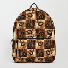 Cat and eyes - Backpack