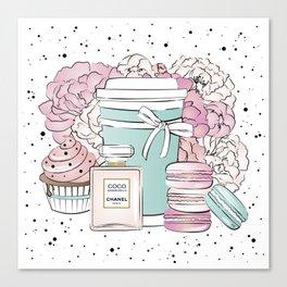 Sweet Life CC Canvas Print