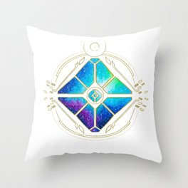 Nebula Ghost Throw Pillow