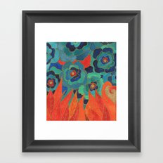 Tongues Framed Art Print