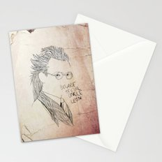 Evil uncle Leon Stationery Cards